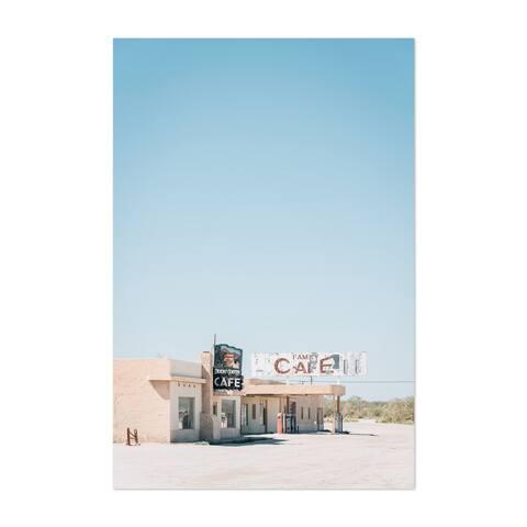 Porch & Den 'Desert Ghost Town California' Unframed Art Print/Poster