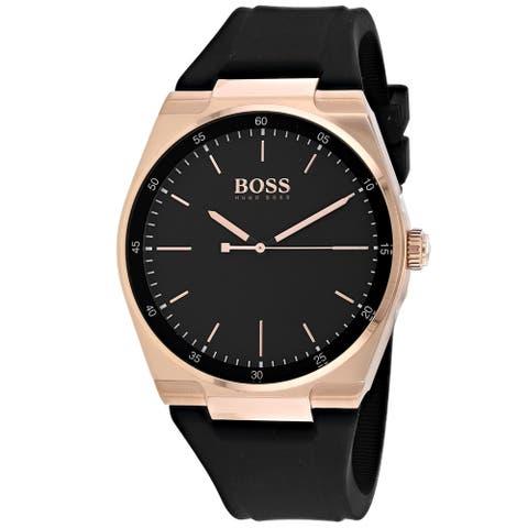 Hugo Boss Men's 1513566 'Magnitude' Black Silicone Watch