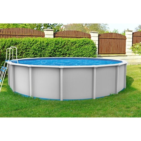 Cambrian 24-ft Round Above-Ground Pool. Opens flyout.