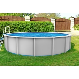 Shop Yorkshire 24 Foot Round Above Ground Pool Free