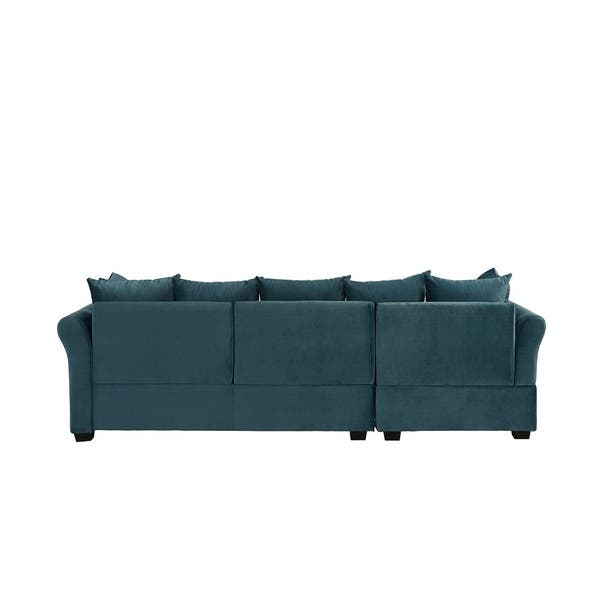 Groovy Shop Low Profile Sectional Sofa With Left Facing Chaise Theyellowbook Wood Chair Design Ideas Theyellowbookinfo