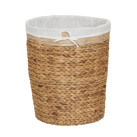 Household Essentials Basket Laundry Liner Wicker Hamper Brown - 20 x 17.72 x 17.72 inches