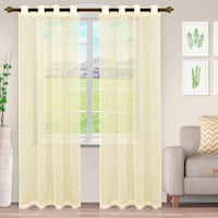 Buy Geometric Sheer Curtains Online At Overstock Our Best Window Treatments Deals