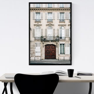 Noir Gallery Paris France Architecture Photo Framed Art Print