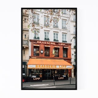 Noir Gallery Brasserie Paris France Photo Framed Art Print