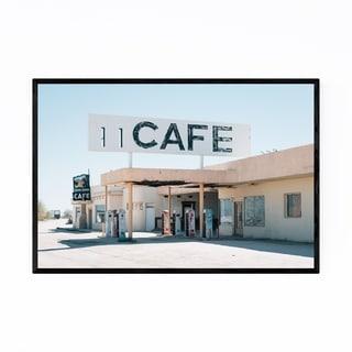 Noir Gallery Desert Ghost Town California Framed Art Print