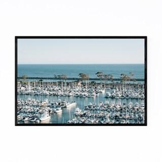 Noir Gallery Dana Point Harbor California Framed Art Print