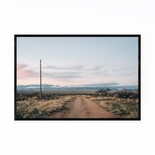 Noir Gallery Arizona Desert Landscape Nature Framed Art Print