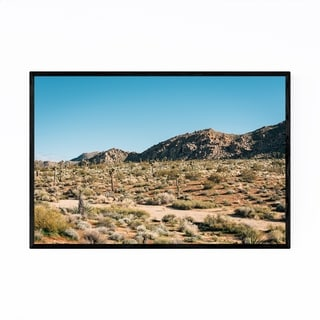 Noir Gallery Joshua Tree National Park Photo Framed Art Print