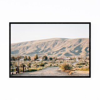 Noir Gallery Desert Nature Photo California Framed Art Print