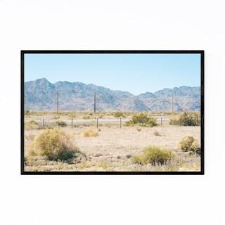 Noir Gallery Desert Landscape California Framed Art Print
