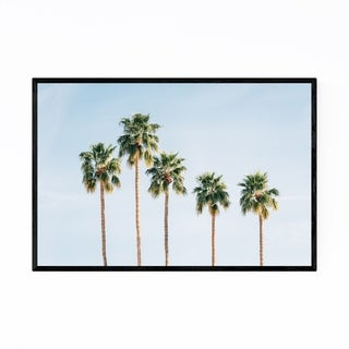 Noir Gallery Palm Trees California Nature Framed Art Print