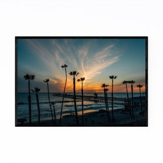 Noir Gallery San Clemente Beach California Framed Art Print
