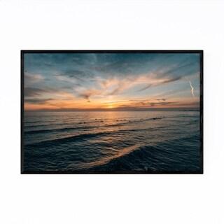 Noir Gallery Newport Beach California Sunset Framed Art Print