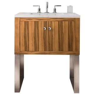 Westlake 30-in. Single Vanity in Natural Applewood