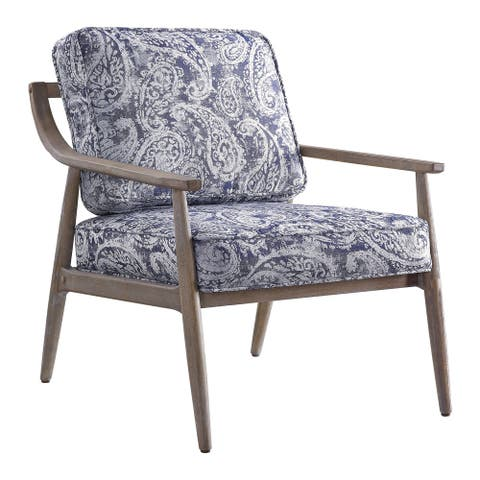 Samuel Arm Chair with Brown Brushed Finish