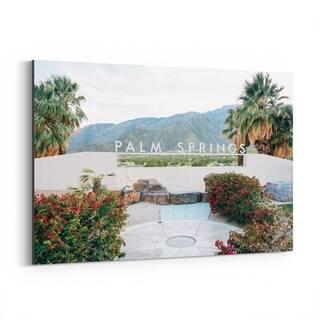 Noir Gallery Palm Springs Sign California Canvas Wall Art Print