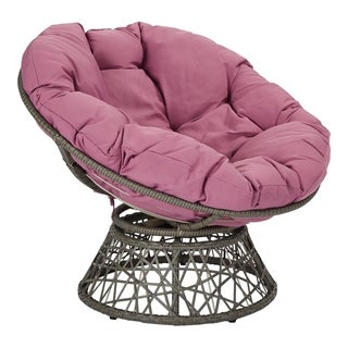 Link to The Curated Nomad Avoca Woven Wicker Papasan Chair Similar Items in Table Linens & Decor