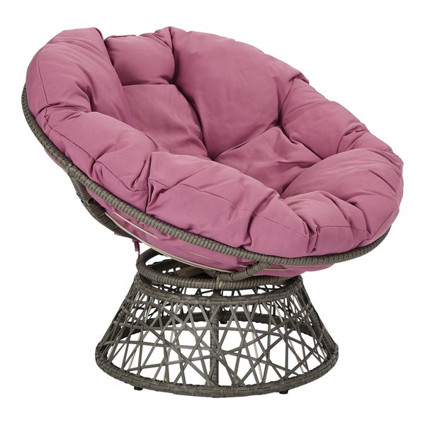The Curated Nomad Avoca Woven Wicker Papasan Chair. Opens flyout.