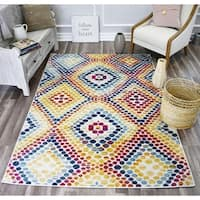 Jorah  Dot  Luminaire Soft Touch Tranisitional Vintage Area Rug