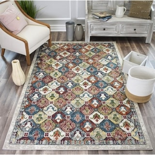 Sela Heirloom Ivory SoftTouch High Low Tranisitional Vintage Area Rug