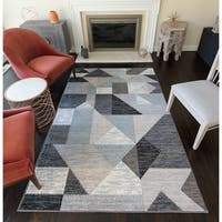 Pleasance Moroccan Geometric Area Rug