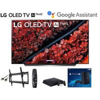 LG OLED65C9PUA 65 inch LG C9 Series Class 4K Smart OLED w/ PS4 Pro 4K w/Wall Mount Kit w/HDMI Cable