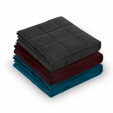 MerryLife Adult Glass Bead Weighted Blanket