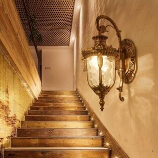 European Style Outdoor Balcony Garden Waterproof Wall Lamp Villa Classic Light - N/A