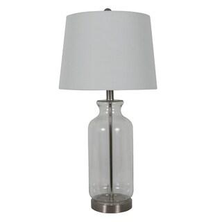 Shop Chamberlain 1 Light Chrome Crystal Table Lamp On