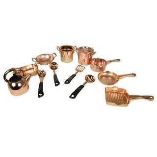 14 Piece Copper Kitchen Playset