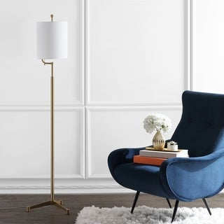 Shop 1573 62 Quot Regency Frosted Glass Floor Lamp In Antique