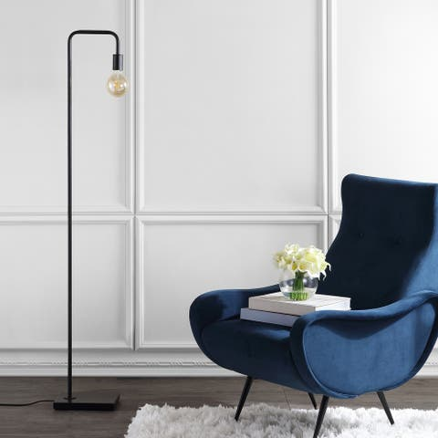 "Safavieh Lighting 60-inch Bran LED Floor Lamp - 10"" x 7"" x 60"""