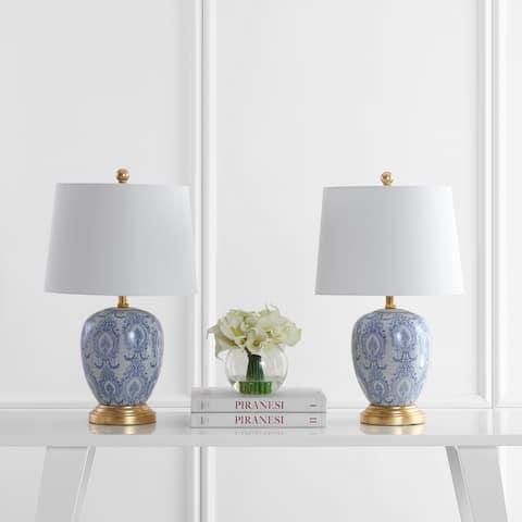 """Safavieh Lighting 23"""" Kalel LED Table Lamp (Set of 2)"""