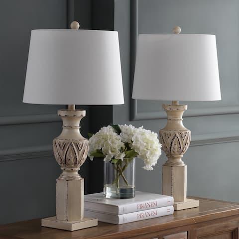 """Safavieh Lighting 29"""" Anten LED Table Lamp (Set of 2)"""