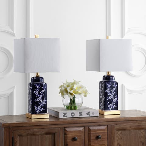 """Safavieh Lighting 22"""" Pilar LED Table Lamp (Set of 2)"""