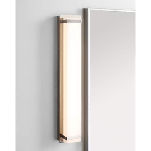 "Safavieh Lighting Gannon Vanity Bar Bathroom Sconce - 24""x4.3""x2.8"""