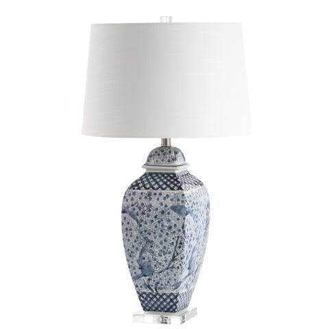 """Safavieh Lighting 30"""" Braeden LED Table Lamp - 17""""x17""""x30"""""""