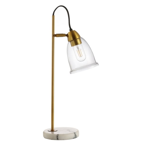 """Safavieh Lighting 22"""" Gibson Table Lamp - 11.8""""x6.3""""x22"""". Opens flyout."""