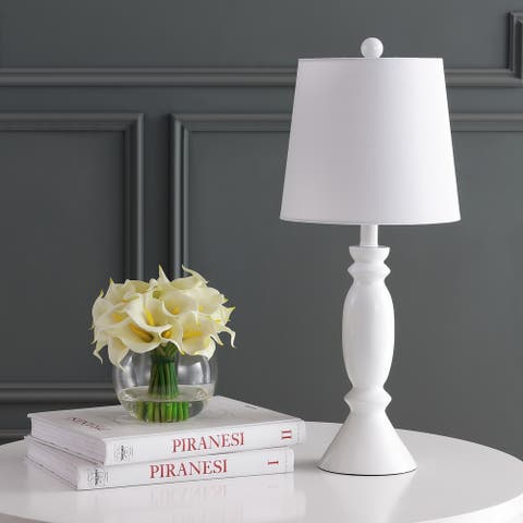 "Safavieh Lighting 24"" Kian LED Table Lamp - 10""x10""x24"""