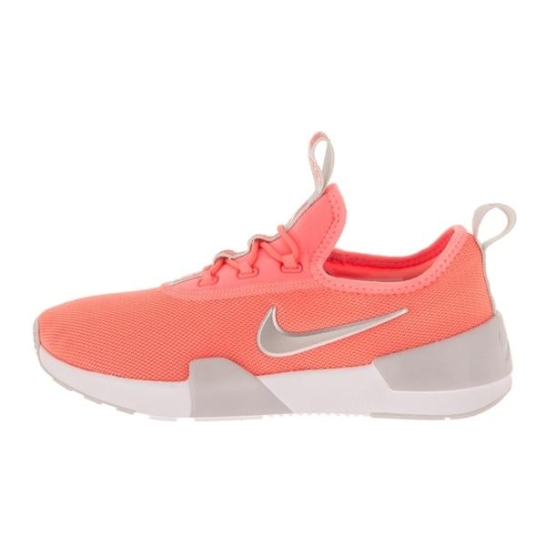 Nike Ashin Modern GS Black//Metallic Silver//White Kids Running Shoes AO1686 001