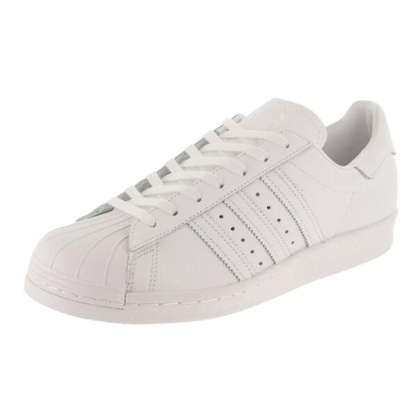 new product 2b82f 728e2 Shop Adidas Men's Superstar 80s Original Casual Shoe - Free ...