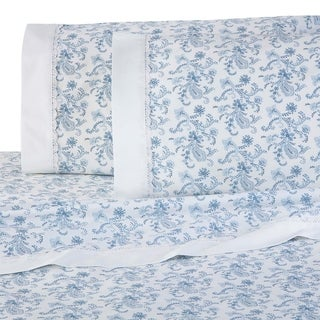 Martex Provence Blue Lace Sheet Set