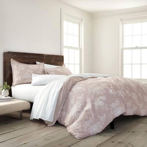 EcoPure Comfort Wash Sienna Duvet Cover Set - Linen