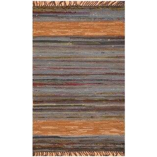 Handmade One-of-a-Kind Wool Kilim (India) - 2' x 3'1