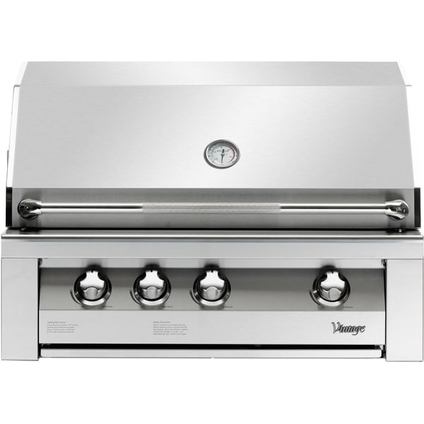 36-In. Built-In Natural Gas Grill in Stainless with Sear Zone. Opens flyout.