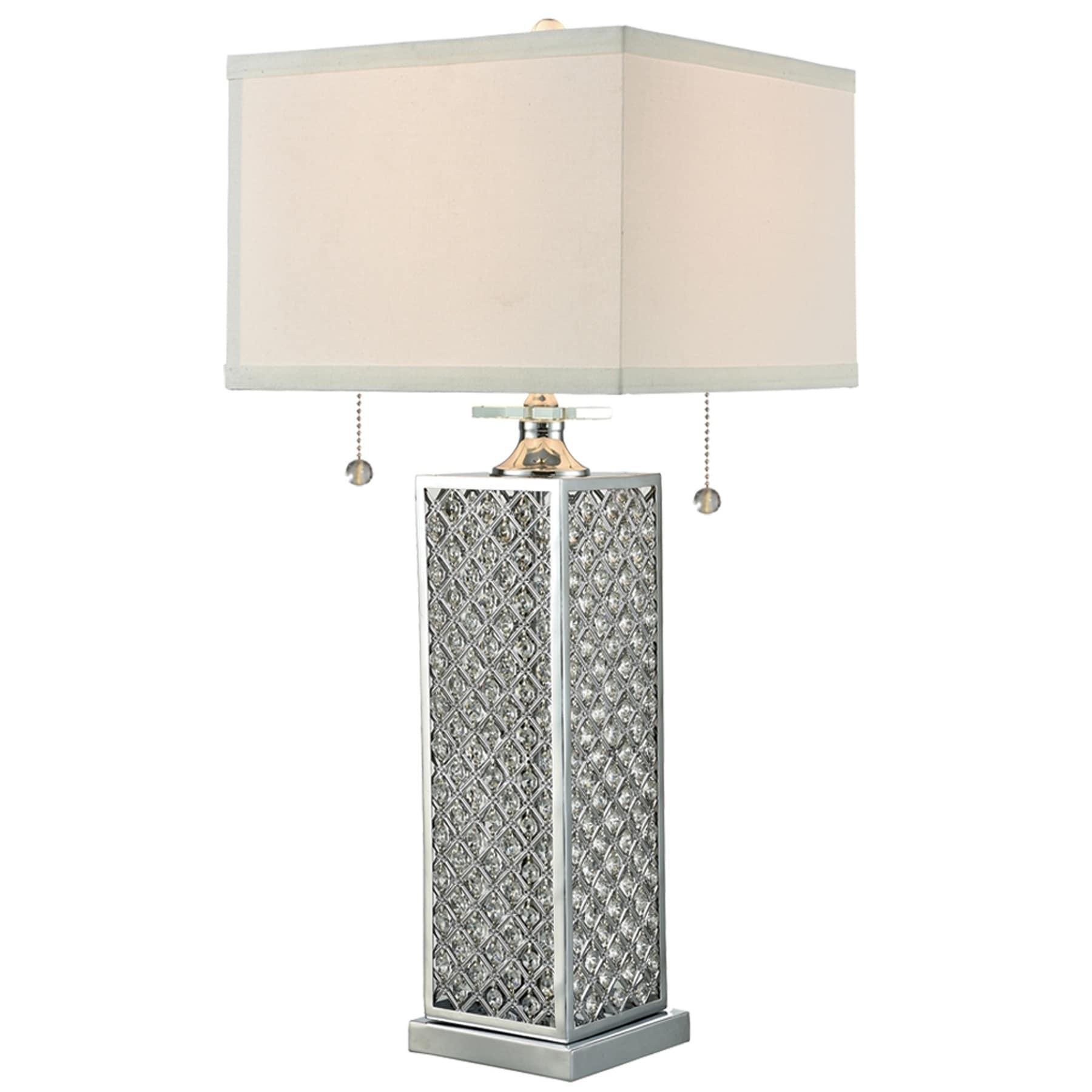 Springdale 32H Odenburg Crystal Table Lamp