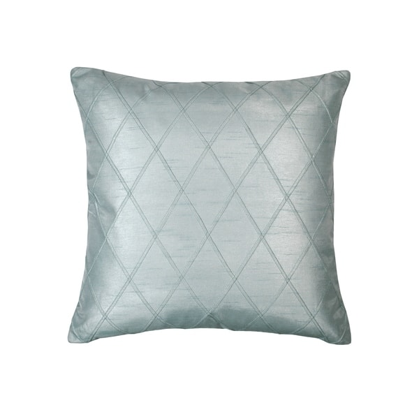 Lillian August Spring Hill Diamond Decorative Square Silk Pillow Overstock 28165914