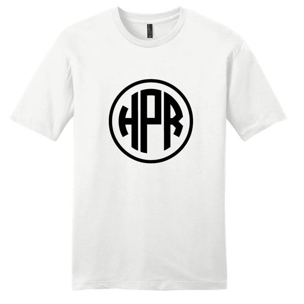 Circle Monogram T-Shirt - Unisex Fit Initials Shirt