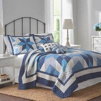 Nostalgia Home Nathan Navy/Ivory Quilt
